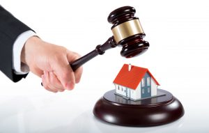 gavel over house